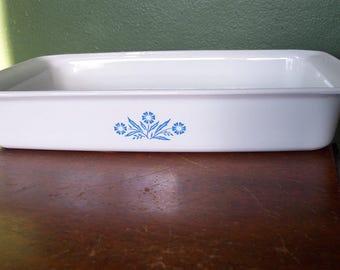 Corning Ware Cornflower Blue Cake Pan or Lasagna Baking Dish