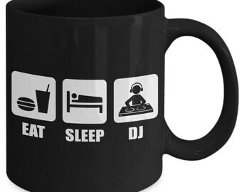 Eat Sleep DJ Music Party Coffee Mug