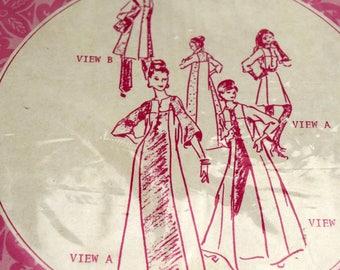 Patterns Pacifica 3031 Misses' Hawaiian Dress Sewing Pattern Muumuu Maxi Mini Caftan Tunic Size 8 12 16