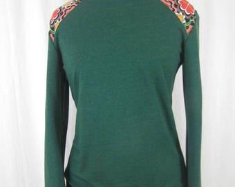 Green and vintage sweat oeko tex