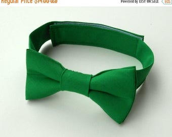 SALE Green Bowtie- Infant, Toddler, Boys-               4 weeks BEFORE SHIPMENT