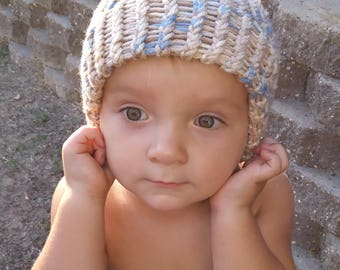 Baby Beanie, Hat, Crochet Beanie, Crochet Hat,