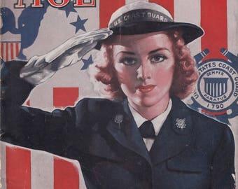 April 1944 Motor Age Magazine Automotive Servicemen War & Post-War Service Issue
