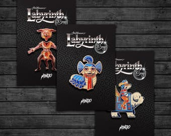 Labyrinth: Enamel Pin Pack