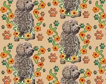 goldendoodle fabric
