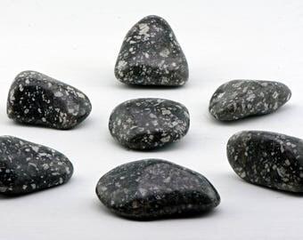 Guinea Fowl Tumbled Gemstone - Stone to Calm the Mind