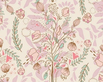 Art Gallery - Lambkin Collection by Bonnie Christine - Pretty Twiggy in Pink
