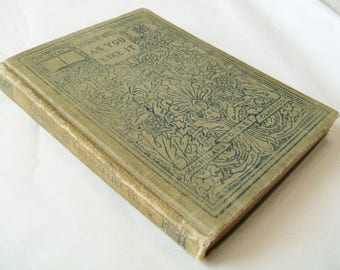 1909 Shakespeare Book, As You Like It, Vintage, Antique, Hardbound
