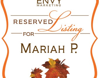 Custom Falling In Love... Again Hand-Cut Leaf Baby Shower Invitation Sets... Reserved for Mariah P.
