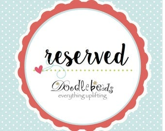 Reserved for April - 35 count ask charms