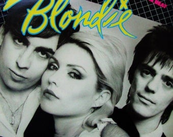 BLONDIE Eat To The Beat Vintage Vinyl 1979 Record Album Debbie Harry Original Press Pop Punk Reggae Funk New Wav Video Album MTV Chris Stein