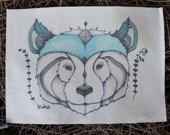 Gentle Bear Hemp/Organic Cotton Patch