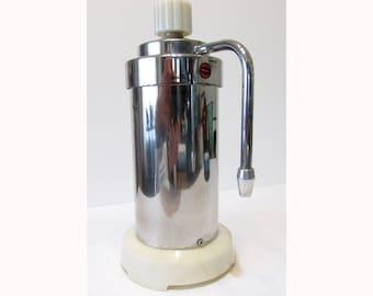 SALE vintage chrome VELOX espresso maker Italian art deco