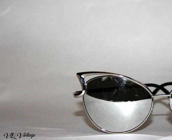Silver Cateye Sunglasses