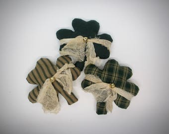 St. Patricks Day shamrock bowl fillers | Shamrock ornaments | Lucky clover |  Shamrocks | Celtic shamrocks | Irish decorations