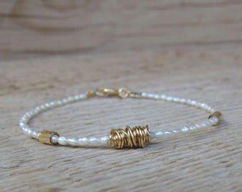 Custom Order For Sybille - 4 Pearls Bracelets