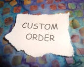 CUSTOM ORDER for KATIE - Single Mosaic Light Switch Plate