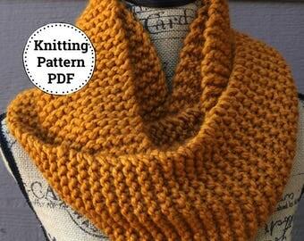 Knitting Pattern | Knit Cowl Pattern | Cowl Knitting Pattern  | Scarf Pattern | Easy Knitting Pattern | Knitting Patterns