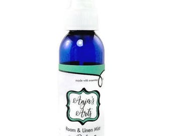 25% Off Sale Relax Room & Linen Fine Mist Spray- 4oz Essential Oils- with Diffuser Necklace