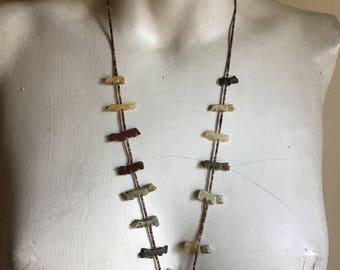 Rare Fetish Navajo Vintage Necklace