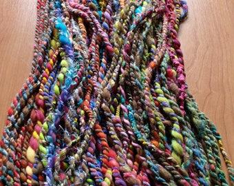 French Carousel 2 - Bulky handspun art yarn