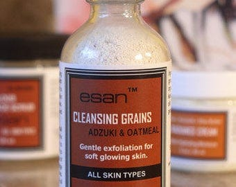 Cleansing Grains, Pore Minimizer Scrub, Activated Charcoal Scrub, Adult Acne Treatment, Gentle Exfoliating Scrub