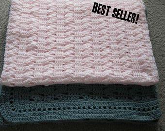 Crochet Pattern, Crochet Blanket Pattern, Afghan Crochet Pattern, Throw, PDF, Tutorial, Baby Blanket, Easy Crochet, Haakpatroon, Haken