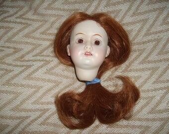 Vintage Bisque Doll Head-Nice