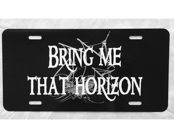 Pirates of the Caribbean License Plate Bring Me That Horizon Car Tag