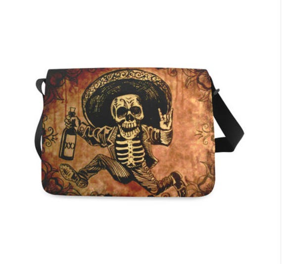 Posada inspired messenger bag