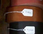 ruban gros grain 2 pouces en couleurs orange vintage coton et rayonne