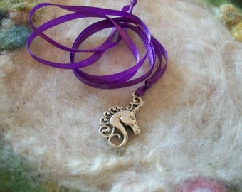 Unicorn Party Favors Magical Unicorn Ribbon Necklace Party Favors,Unicorn Charm Necklace Gift Prize Jewelry