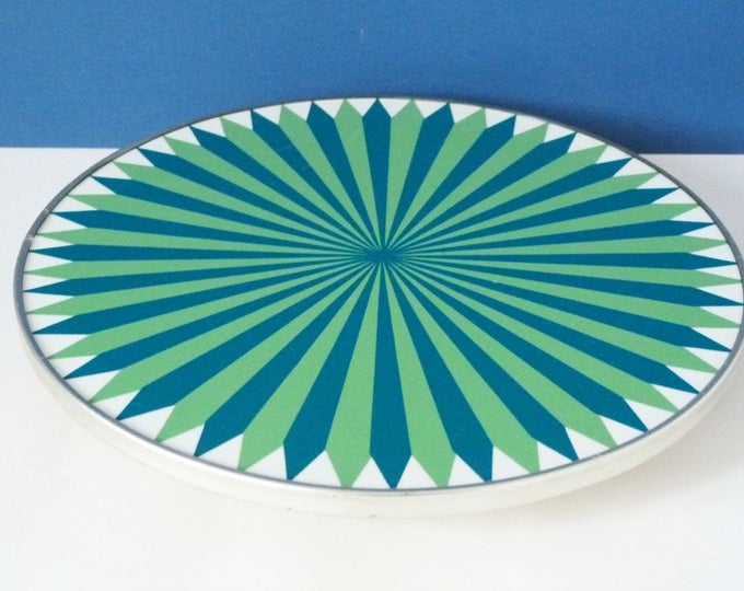 1960's Rotating cake stand
