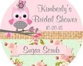 Custom Bridal Shower Labels