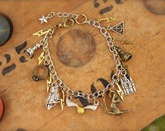 Harry Potter Inspired Charm Bracelet SALE!