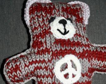 Knit Peace Bear