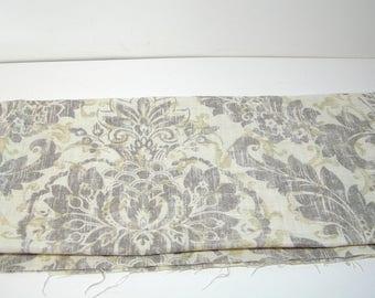 Downton Covington Fabric 1 Yard Graphite