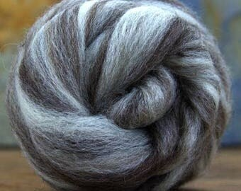 Undyed BFL Humbug Combed Top   4Oz.