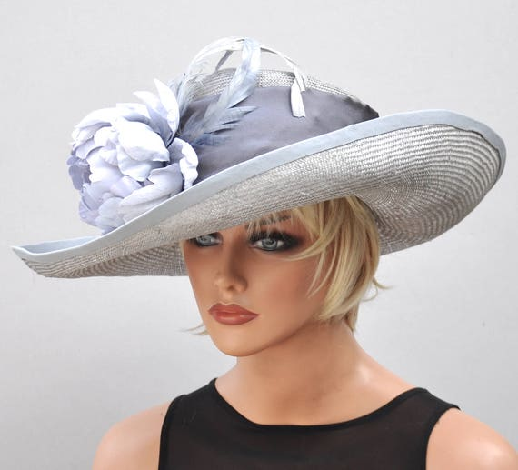 Kentucky Derby Hat, Ascot Hat, Wedding Hat, Wide Brim Hat, Formal Hat, Occasion Hat, My Fair Lady Hat