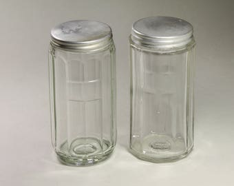 Vintage Hoosier Spice Jars - circa 1920's