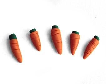 Miniature Carrot Vegetable token set