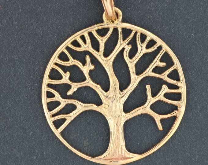 Tree of Life Pendant in Antique Bronze