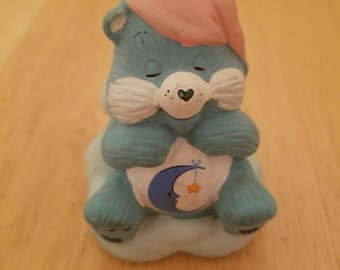 Vintage Care Bear Figurine