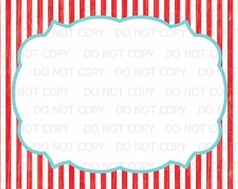 "Printable DIY Vintage Circus sign -  BLANK 8.5"" x 11"" INSTANT DOWNLOaD"