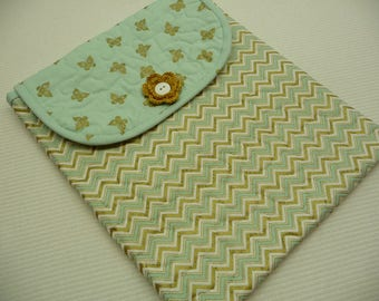 MISTI Sleeve - Original Size - Green/Gold Chevron