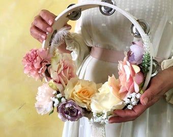 Flower tambourine