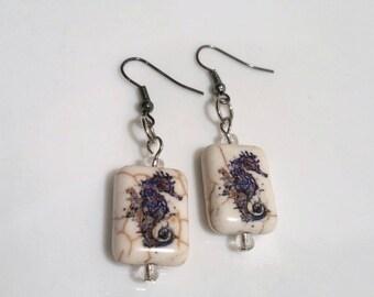 SeaHorse Earrings Sea Horse Jewelry Gift Idea