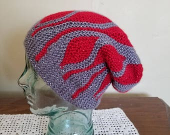 Sparkly knit hat