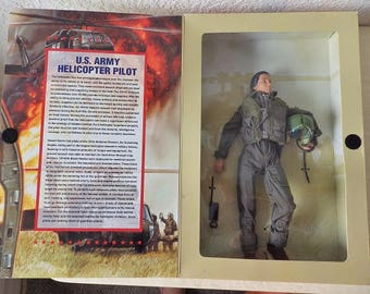 G. I. Jane Doll, U.S. Army Helicopter Pilot, NRFB. 1997.