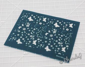 Polymer Clay Silk Screen | Butterfly Silk Screen |Butterfly Silk Screen | Silk Screen for Clay | Silk Screen #7